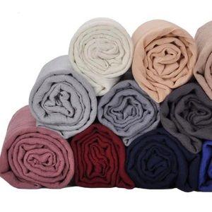 Cotton crinkle hijab/scarf